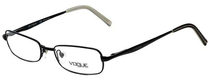 Amazon.com: Vogue Designer Eyeglass Frame VO3532-352S in Black 49mm ...