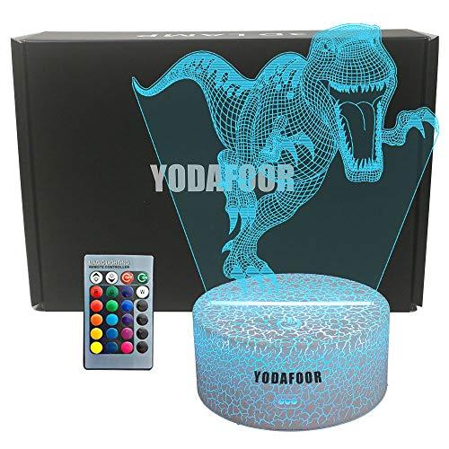YODAFOOR Dinosaur Night Light Lamp Dinosaur Toy Gifts