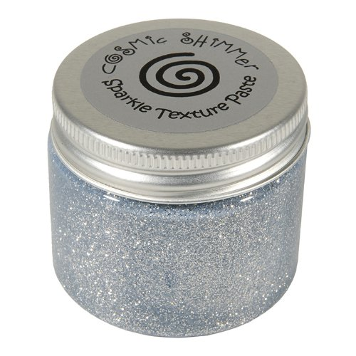 Cosmic Shimmer Sparkle Texture Paste, Silver Moon Craftiarts CSPASTSPSILV