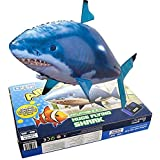 Air swimmers remote control flying shark toys for Remote control air swimming fish
