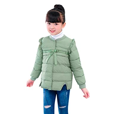 a6b55158c Amazon.com  WARMSHOP Winter Coats for Girls 1-5T