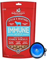Stella & Chewy's - Stella Solutions Freeze Dried Dog Food,Snacks 13 oz Bag with Hotspot Pet Food Bowl - Made in USA