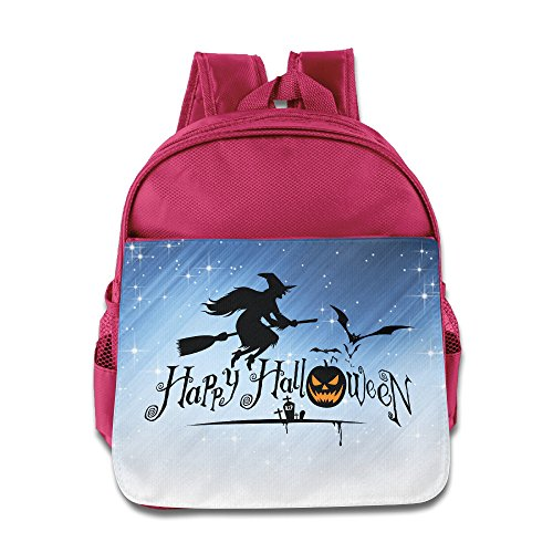 Boomy Cute Happy Halloween Event School Bag For 3-6 Years Old Girls & Boys Pink Size One Size