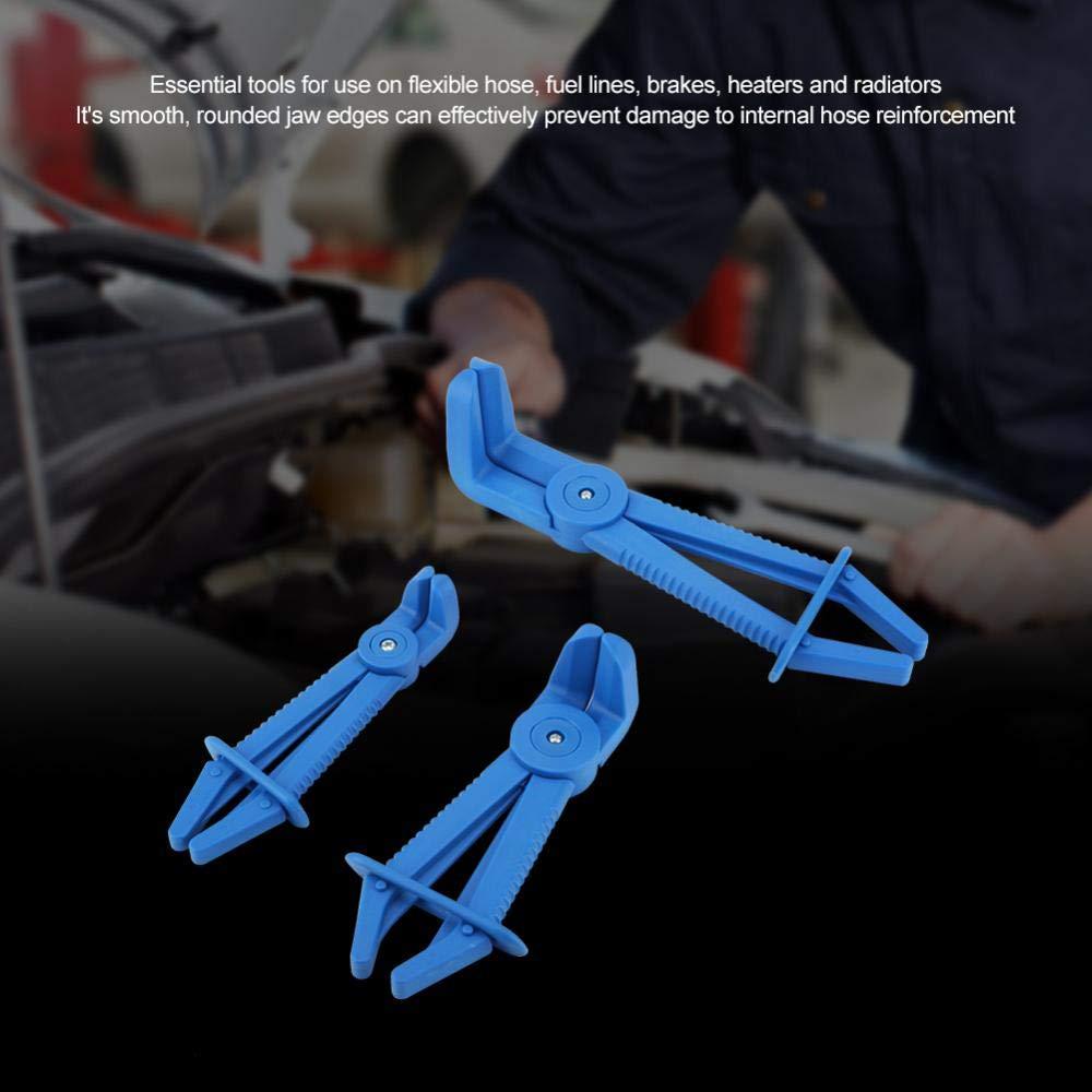 rot Fdit 3 St/ücke Kunststoff Flexible Schlauchschelle Werkzeug-Set Brake Kraftstoff Wasserleitung Schellen Zange Kit