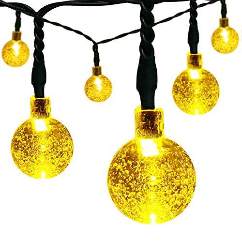 Solar Christmas String Lights,easyDecor 30 LED ...