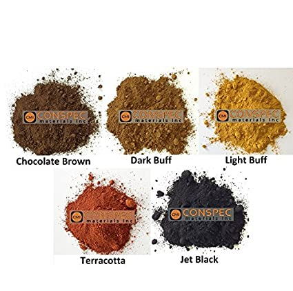 49529166dddb0 Conspec 5 Lbs. MIXED COLORS Powdered Color for Concrete, Cement ...