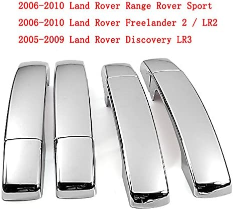 Fits 2006 2007 2008 2009 Land Rover Range Rover Chrome Door Handle Covers