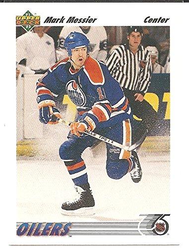 Mark Messier 1991-92 Upper Deck Edmonton Oilers Card #246
