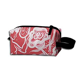Outdoor Tavel Storage Tools Bag, Canvas Flowers And Plants Small Carrying Storage Pouch Case Canvas Bags