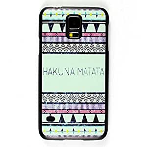 Hakuna Matata Aztec Tribal Rigid Back Cover Skin Protector Phone For Case HTC One M8 Cover -G900F