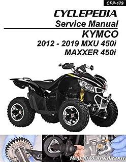 kymco mxu 250 2005 repair service manual