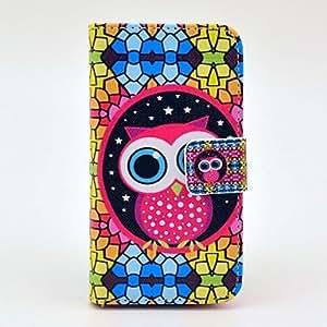 WQQ Funda con Soporte - Gráfico/Color Mixto/Dibujos Animados/Diseño Especial/Estilo de Nombre/Innovador - para iPhone 4/4S ( Colores Surtidos/Multicolor ,
