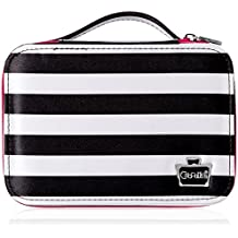 Caboodles Obsession Cosmetic Valet, Black/White Stripe, 0.61 Pound