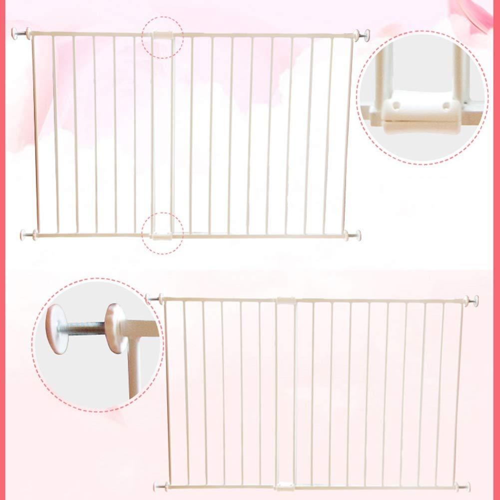 Breite 74-200cm QIANDA T/ürgitter Treppenschutz Gitter Fenstertor Sicherheitsstangen Kindersicherheitsma/ßnahmen Hinzuf/ügen Wei/ß Size : 74cm-81cm