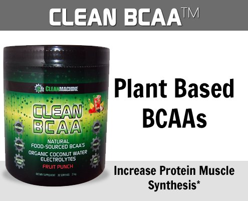 Clean Machine BCAA Fruit Punch Powder, 30 Count by Clean Machine (Image #3)