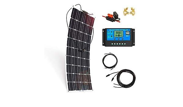 Kit Placa Solar 700W/H/Día 12V Autocaravana y Furgoneta Camper ...