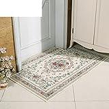 French,Pastoral Pad/Doormat/Door,Cut,Absorbent,Anti-skidding ,Hall,Indoor Mats/Indoor Mat-C 140x200cm(55x79inch)