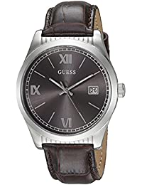 GUESS Men's U0874G1 Analog Display Quartz Brown Watch