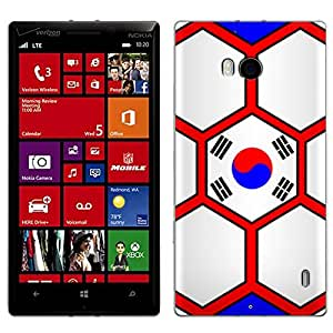 Skin Decal for Nokia Lumia 929 - Soccer Ball Korea Flag