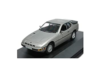 Highspeed Porsche 924 Turbo 1978 Car Diecast 1:43 (Grey)(L x