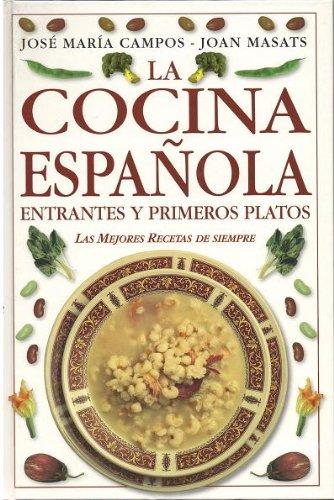 La cocina española. 1. Entrantes y primeros platos 2. Carnes, pescados y postres. 2-tomos: Amazon.es: José María Campos, Joan Masats, Ed. D.K.: Libros