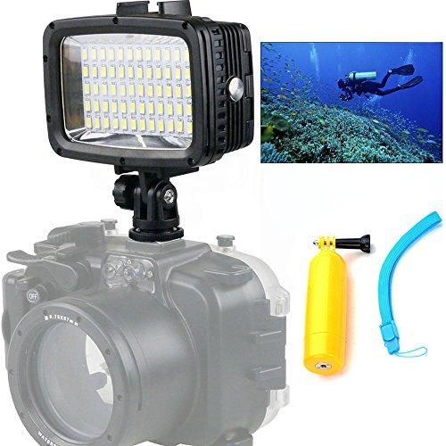 Orsda Video Diving Light 40M Waterproof 1800LM 60 LED Drivin