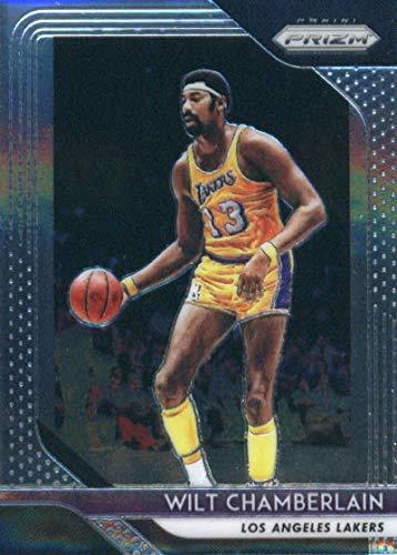 2018-19 Panini Prizm #205 Wilt Chamberlain Los Angeles Lakers Basketball ()