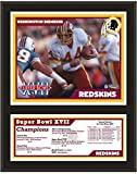 "Washington Redskins 12"" x 15"" Sublimated Plaque - Super Bowl XVII - Fanatics Authentic Certified - NFL Team Plaques and Collages"
