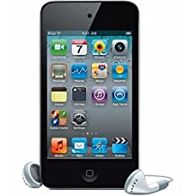GOODGD IP0D Touch (4th Generation).+ iPod Touch ScreenProtector (Black, 8G)