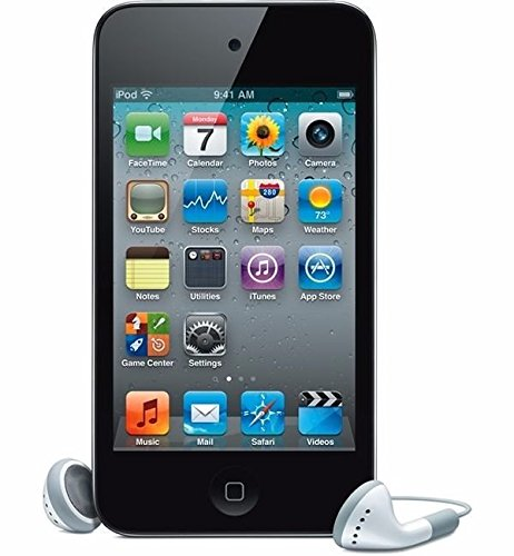 GoodNew For Apple iPod touch 32GB (4th Generation) With Box Packaging (Black) (Silver Ipod Touch 4th Generation)