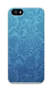 iPhone 5 5S Case Green Leaves Pattern 3D Custom iPhone 5 5S Case Cover