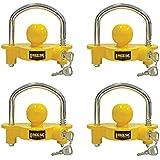 Reese Towpower 72783 Universal Coupler Lock, Adjustable Storage Security, Heavy-Duty Steel (4)
