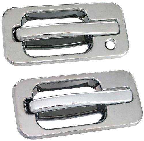 All Sales 601 Polished Billet Aluminum Door Handle and Bucket (Billet Door Bucket)