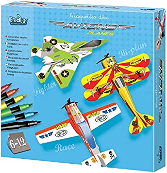 Crea Lign – CL118 – Pack de 3 (Escala H0 – Deco Aviones: Amazon.es: Juguetes y juegos