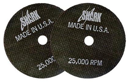 4-Inch by 1//8-Inch by 3//8-Inch Shark Welding 12714 Shark Cut-Off Wheels 10-Pack 46-Grit