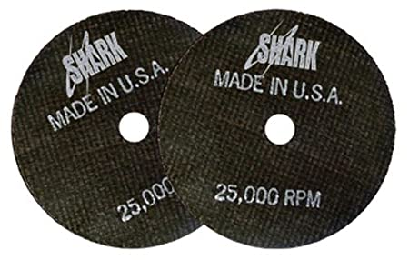 4-Inch by 1//16-Inch by 1//4-Inch 54-Grit Shark Welding 12719 Shark Cut-Off Wheels 50-Pack