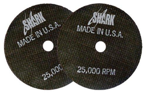 12-Inch by 1//8-Inch by 1-Inch 10-Pack 36-Grit Shark Welding 12727 Shark Cut-Off Wheel