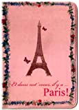 Eiffel Tower in Paris Passport Cover ~ Travel Accessory ~ No more bent corners, Bags Central