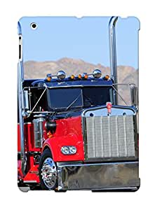 Bgpeya-5247-xskozwn Tough Ipad 2/3/4 Case Cover/ Case For Ipad 2/3/4(kenworth Vehicles Trucks Chrome Wheels Roads Mountains ) / New Year's Day's Gift