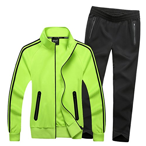 Real Spark Women's Athletic Full Zip Jogging Sports Tracksuit Casual Sweat Suit Set