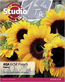 studio aqa gcse french higher student book amazoncouk