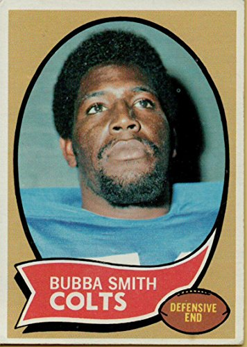 - Football NFL 1970 Topps #114 Bubba Smith RC Rookie Colts