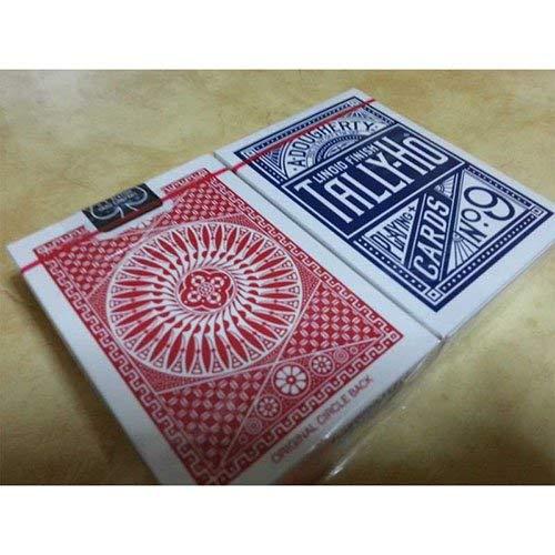 日本初の SOLOMAGIA - 2 Tally Tally Ho - サークルバック - 通常のポーカーサイズ赤と青のバック SOLOMAGIA B00LO8LPME, スウィートラグ:1b0faa15 --- arianechie.dominiotemporario.com