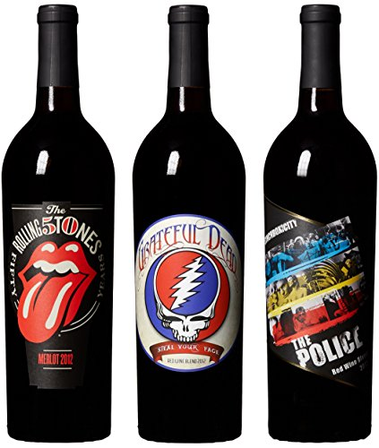 Wines That Rock, Rockstar Special Mixed Pack IV, 3 X 750 ml