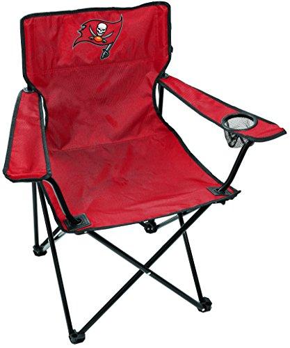 Rawlings NFL Tampa Bay Buccaneers Unisex LP0055NFL Game Day Elite Chair, Red, Adult