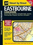 AA Street by Street: Eastbourne: Hailsham, Beachy Head, East Dean, Hampden Park, Lagney, Pevensey Bay, Polegate, Westham, Willingdon