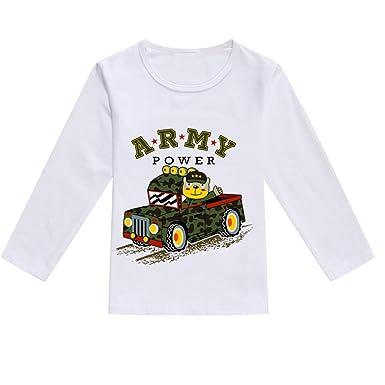 760d390efc2db TWIFER_été_ Printemps_Toddler Baby Enfants Garçons Filles Manches Longues  Printemps Bande Dessinée Print Tops T-Shirt