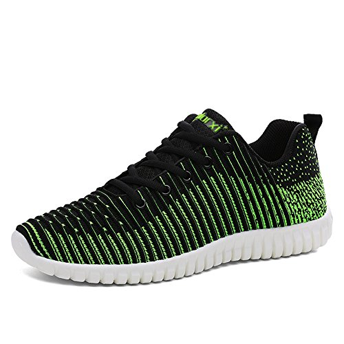 Sports Mode Athletic Earsoon Sneakers Fitness Chaussures Sport Hommes Gym Running De Multisports Course Entraînement Shoes Compétition Vert wzzq1t