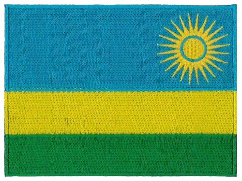 Rwanda Embroidered Patch 12 X 9CM
