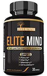 Premium Brain Booster Supplement - All Natural Nootropic Stack - Brain Supplement Supports Enhanced Memory, Focus, & Clarity - Usa Formulated, 30 Day Supply, Powerful One Per Day Formula